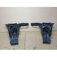 06 BMW M6 E63 Rear Bumper Side Mount Bracket Set 51127898294 & 51127898293