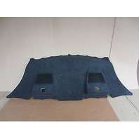 BMW M6 E63 Black Alcantara Rear Deck Window Parcel Shelf