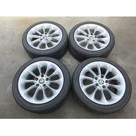 "2004 BMW Z4 E85 #1007 FACTORY OEM 17"" Wheels & Bridgestone Tires 5x120"