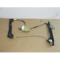 2013 BMW 335is 335i E92 #1018  Left Front Window Motor & Regulator 51337193455