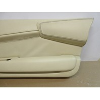 04 Lamborghini Murcielago #1025 Right Ivory Leather Door Panel