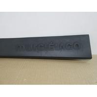 04 Lamborghini Murcielago #1025 Left Door Sill Cover Scuff Plate Trim