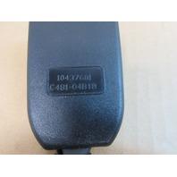 04 Lamborghini Murcielago #1025 Right Seatbelt Reciever Buckle 10437601