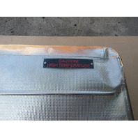 04 Lamborghini Murcielago #1025 Exhaust Muffler Cover Heatshield 07M251384