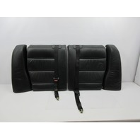 1995 BMW M3 E36 #1038 Rear Black Leather Seat Backrest & Trim Set