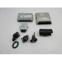 2003 BMW M3 E46 #1040 S54 Engine Computer, Ignition, EMS 3, TCU & Lock Set