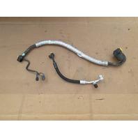 03 BMW M3 E46 #1040 Air Conditioning Compressor Pressure A/C Line Hose Pipe Set
