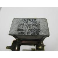1986-1992 Toyota Supra MK3 #1042 Fuel Gas Pump Relay & Resistor OEM