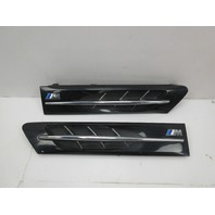 2000 BMW Z3 M Roadster E36 #1044 Hood Grill Gill Set Exterior Pair Black OEM