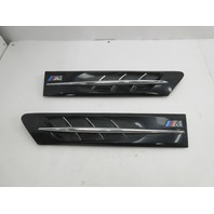 1998 BMW Z3 M Roadster E36 #1045 Hood Grill Gill Set Exterior Pair Black OEM