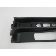 1999 BMW M3 E36 Convertible #1046 Center Console 51168167822 Black