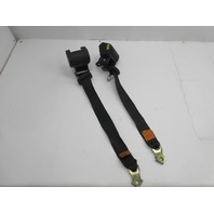 1999 BMW M3 E36 Convertible #1046 Rear Seatbelt Set Pair Black