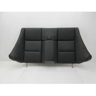 01-06 BMW M3 E46 Convertible #1047 Rear Seat Backrest Cushion Black