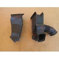 01-06 BMW M3 E46 #1047 Right & Left Brake Air Duct Dam 51717892786 51717892785