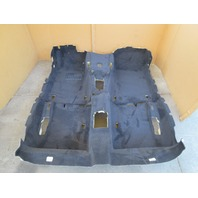 01-06 BMW M3 E46 Convertible #1047 Convertible Main Black Interior Carpet