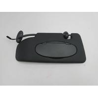 06 Mini Cooper S R50 R52 R53 #1048 Driver Left Sunvisor W/Mirror Black