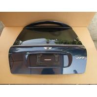 06 Mini Cooper S R50 R52 R53 #1048 Rear Trunk Lid Hatch Assembly