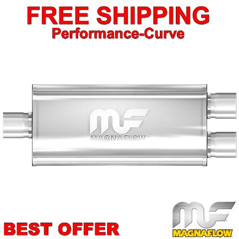 12267 Muffler Mag SS 18X5X8 3//2.5 O//D MagnaFlow