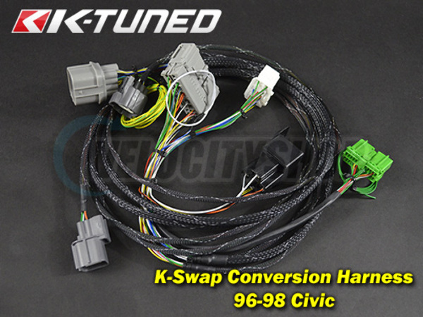 K Series Wiring Harness Install on