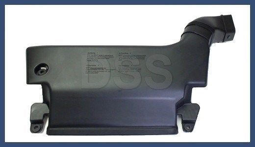 GENUINE NEW OEM BMW 3 Series E46 1998-2000 Air Filter Duct Housing to Radiator