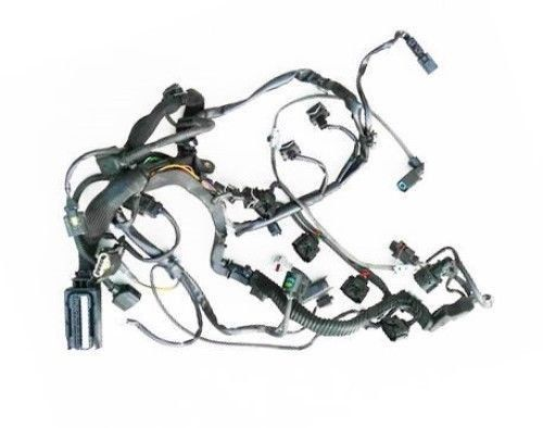 new genuine mercedes w203 c230 (03 05) engine wiring harness oem