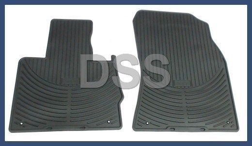 Mats 2000-2006 NEW BMW E53 X5 Genuine Front All Weather Rubber Floor Mat Set