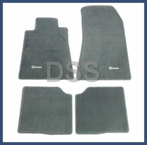 Mercedes Benz Floor Mats >> Details About Genuine Oem Mercedes Benz S Class Grey Carpet Floor Mats 1993 1999 Q6680217