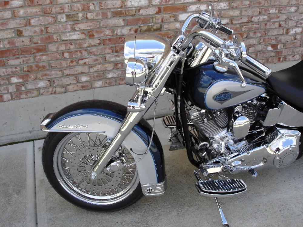 HardDrive Front Fender Without Trim Holes Each For Harley-Davidson 30-441