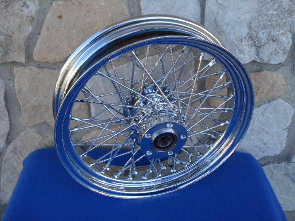 HardDrive 051-02631 16X3.5 Front 60 Spoke Wheel Single Disc