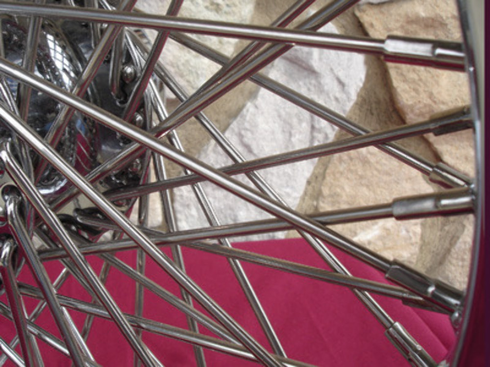 "16X3.5"" 60 SPOKE DNA WHEEL REAR HARLEY ROAD KING TOURING ELECTRA GLIDE 2008"