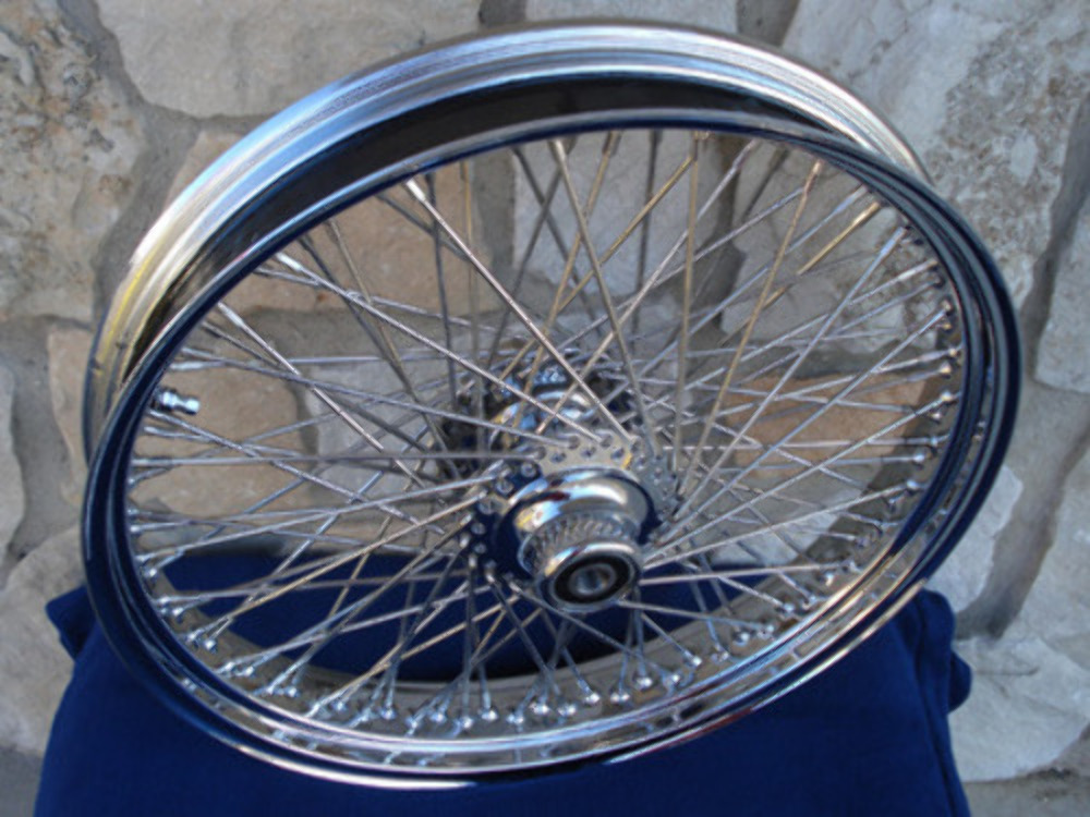 "21"" X 3.5"" 60 SPOKE DNA FRONT WHEEL 2007-UP HARLEY HERITAGE FAT BOY DELUXE ABS"