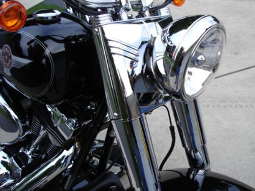 Biker/'s Choice Fork Cover Kit Chrome #74157 Harley Davidson