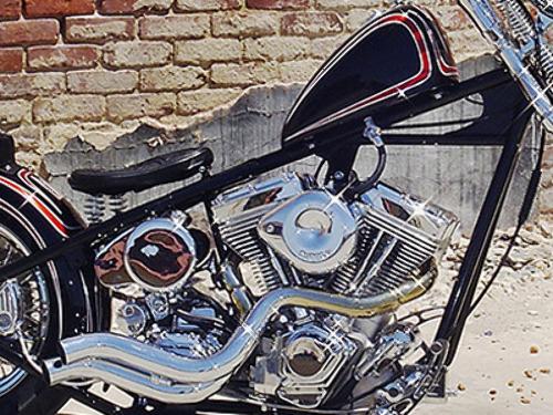 Details about KRAFT TECH K16073 RIGID STYLE CHOPPER FRAME FOR EVO MOTORS  BEST PRICE