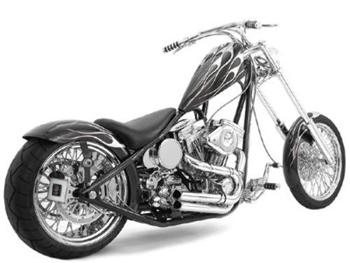 KRAFT TECH K19122 RIGID STYLE CHOPPER FRAME FOR EVO MOTORS BEST ...