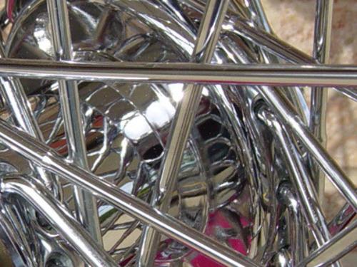 80 SPOKE CHROME 16x 3 WHEEL HARLEY SHOVELHEAD FL FRONT /& REAR /& FX 73-84 REAR
