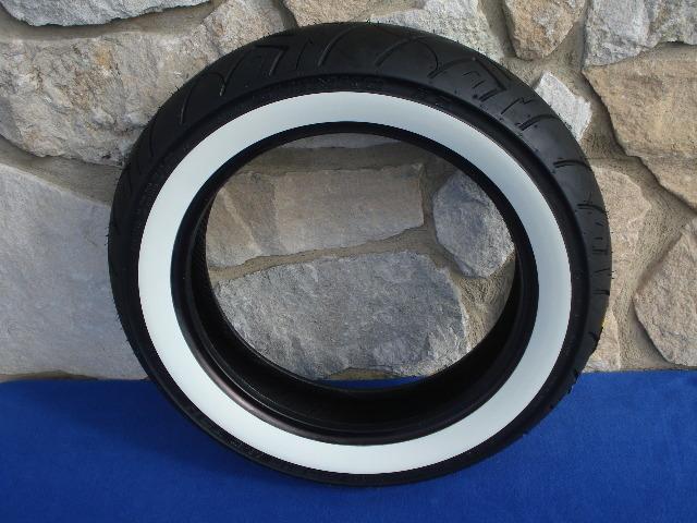 Mu85 16 Shinko 777 Hd White Wall Rear Tire For 16 Quot Rims Ebay