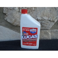 LUCAS 10710 SEMI-SYNTHETIC MOTORCYCLE ENGINE OIL 10W40