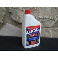 LUCAS 10765 SYNTHETIC 50 WT MOTORCYCLE OIL FOR HARLEY