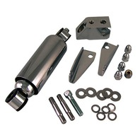 CHROME SHOCK KIT FOR HARDBODY DNA & PAUGHCO SPRINGER FOR HARLEY
