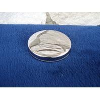 CHROME PLATED STEEL NON VENTED GAS CAP HARLEY PANHEAD SHOVELHEAD REP 61103-36