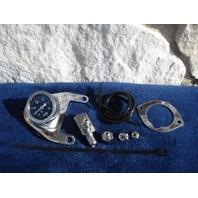 TWIN CAM OIL PRESSURE GAUGE KIT FOR  HARLEY FXD  FXST   FLHT  REPL OE # 75133-99