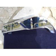 CHROME CHAIN GUARD FOR HARLEY SHOVELHEAD BIG TWIN FL REPLACES OEM 60302-63T