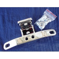 CHROME DELUXE MOTOR MOUNT FOR HARLEY BIG TWIN 84-99 REPL OE # 16852-87T