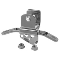 CHROME MOTOR MOUNT FOR HARLEY BIG TWIN REPLACES OE # 69018-87T