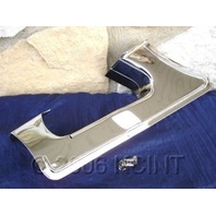 CHROME LOWER BELT GUARD PARTS FOR HARLEY FLT FLHT  85-98 REPLACES OE #  60397-85