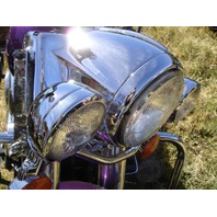 CHROME HEADLIGHT NACELLE FOR HARLEY FATBOY HERITAGE 1986-2004