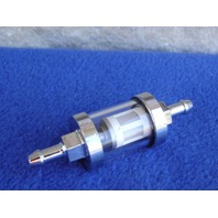FUEL FILTER FOR HARLEY & CHOPPERS FOR 1/4 FUEL LINE