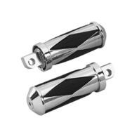 DIAMOND PASSENGER PEGS PARTS FOR HARLEY DYNA XL 72 UP