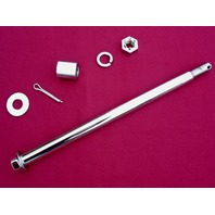 REAR AXLE AND HARDWARE KIT  FOR HARLEY FLT FLHT FLHR 1980-99 REPL OE # 41110-79A