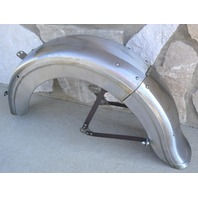 "HINGED REAR FENDER FOR HARLEY 45"" RIGID 1936-52"
